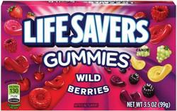 LIFESAVERS GUMMIES BOX WILD BERRIES 3.5OZ