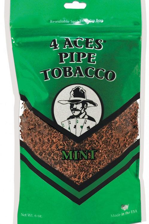 4 Aces Mint Pipe Med 6 Oz Bag