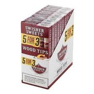 Swisher Sweet Wood Tip 5 Pack  10/5