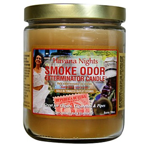 Smoke Odor Jar Havana Nights 13oz