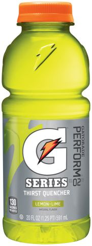 405069 - GATORADE LEMON LIME     20 OZ 2