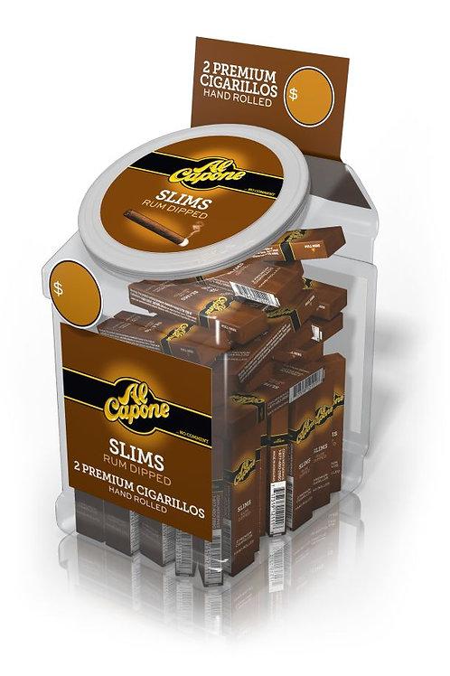 Al Capone Slims Rum Filter 2 Pk 60