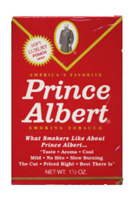Prince Albert Pouch 1.5 Oz 6 Ct