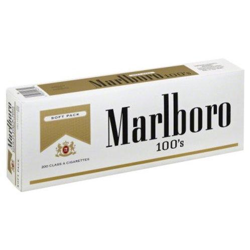 Marlboro Gold 100 Soft Pack