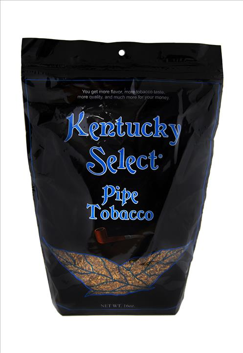 KENTUCKY SELECT PIPE TOBACCO MENTHOL LT BLUE 16OZ