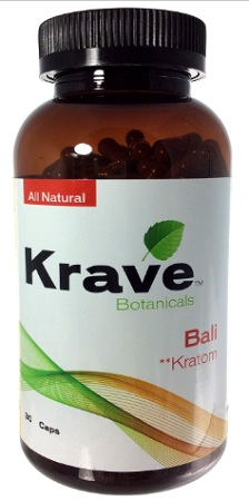 403996 - KRAVE KRATOM BALI  30CT