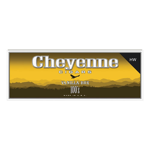 Cheyenne Big Cigar Vanilla 100 Box
