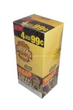 Zig Zag Rillo 4/.99 Gold 15 Ct