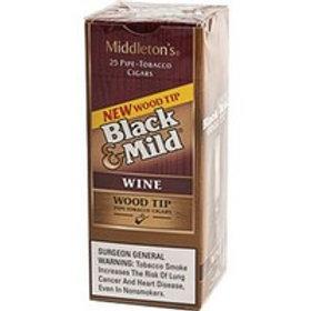 Black N Mild Wood Tip Wine Singles