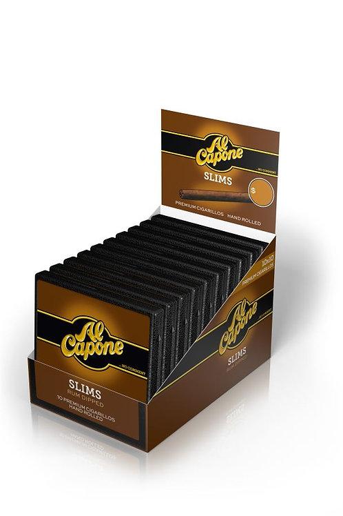 Al Capone Slims Rum Filter 10 Ct