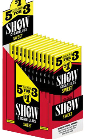 Show Cigarillo Sweet 5 For $1 15