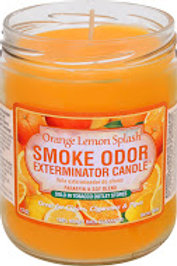 Smoke Odor Jar Orange Lemon Splash