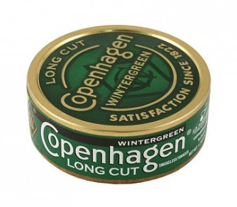 COPENHAGEN LONG CUT WINTERGREEN