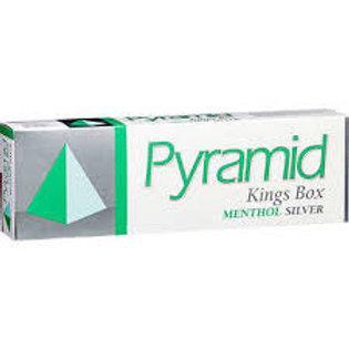 Pyramid Menthol Silver Box FSC