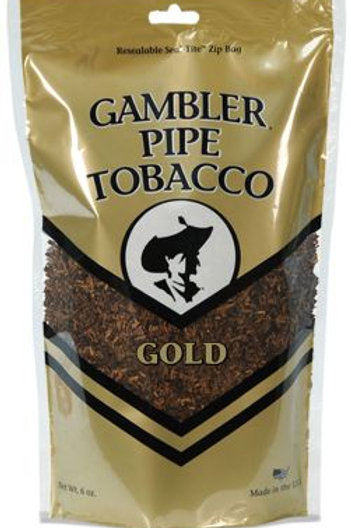 Gambler Pipe Tobacco Gold 6 0Z