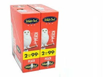 White Owl Cigarillo Peach 2/.99 30
