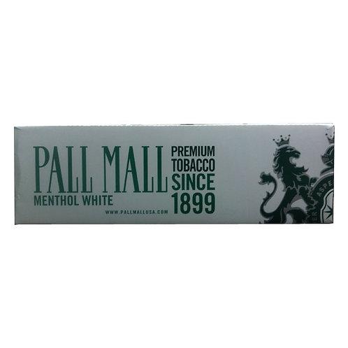 Pall Mall Menthol White 83 Box FSC