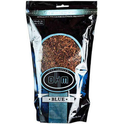 O H M Blue Pipe Tobacco 16 Oz Bag