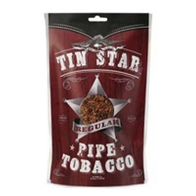 Tin Star Pipe Tobacco Regular 8 Oz