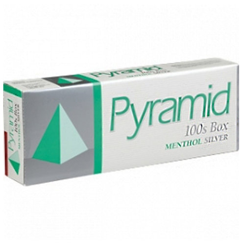 Pyramid Menthol Silver 100 Box FSC