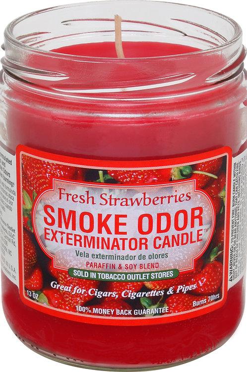 Smoke Odor Jar Fresh Strawberry 13 oz
