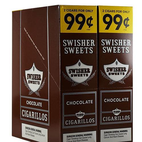 Swisher Swt Cigar Chocolate 2/.99