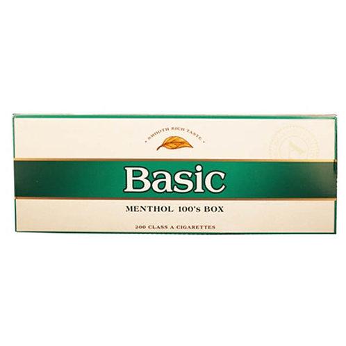 Basic Menthol 100 Box FSC