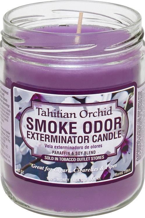 Smoke Odor Jar Tahitian Orchid 13Oz