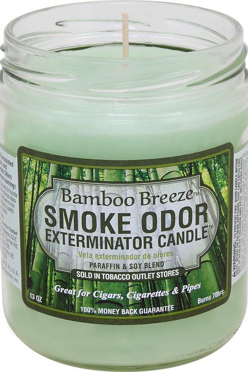 Smoke Odor Jar Bamboo Breeze 13 Oz