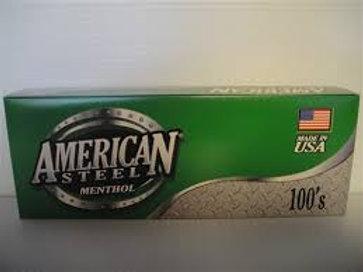 American Steel Cigar Menthol 100 10