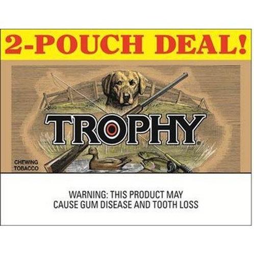 Trophy Chew Pouch 2.75 Oz 6/2 Pk