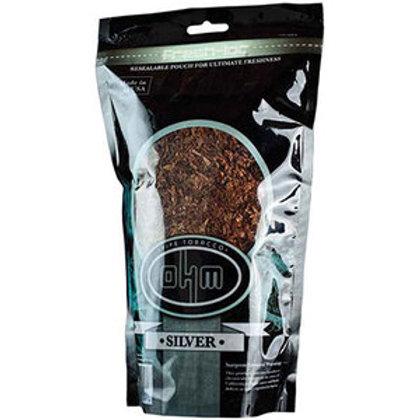 O H M Silver Pipe Tobacco 16 Oz