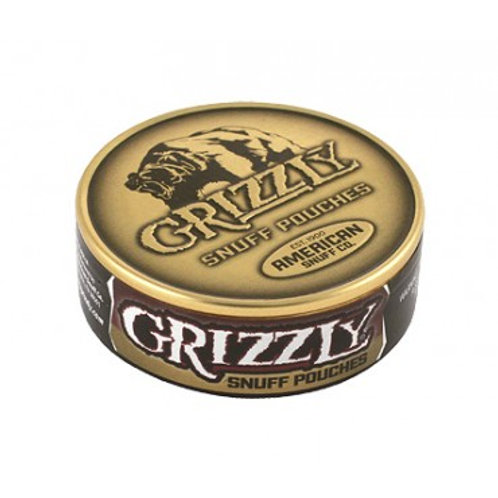 Grizzly Pouches Snuff 5 Ct