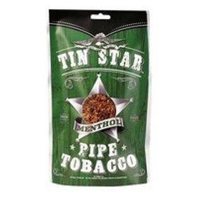 Tin Star Pipe Tobacco Menthol Lg 8