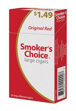 SMOKER'S CHOICE ($1.49) (RED ORIGINAL)