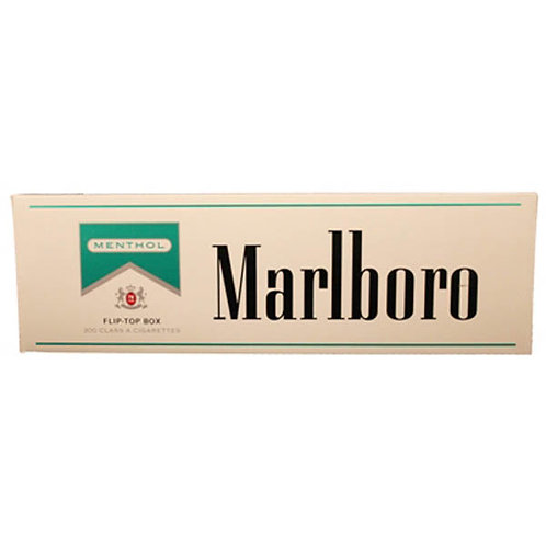 Marlboro Menthol Silver Box FSC