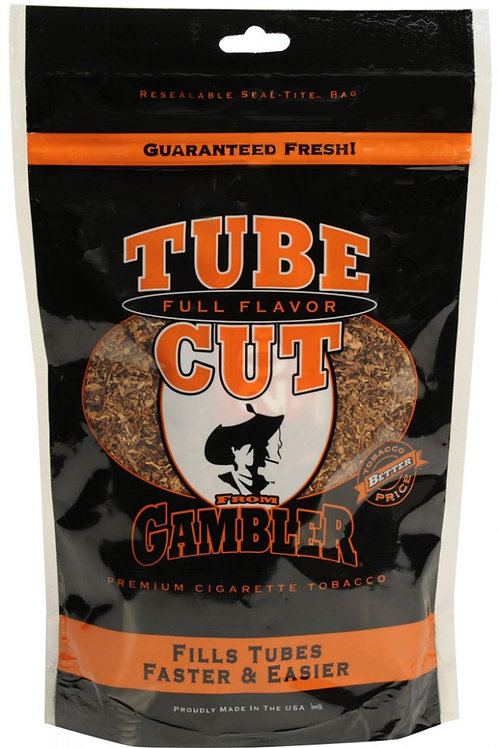 Gambler Tube Cut F F Large Bag 8Oz