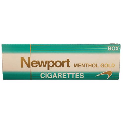 Newport Menthol Gold Box FSC