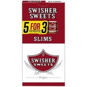 Swisher Sweet Slims 5 For 3 10/5 Pk