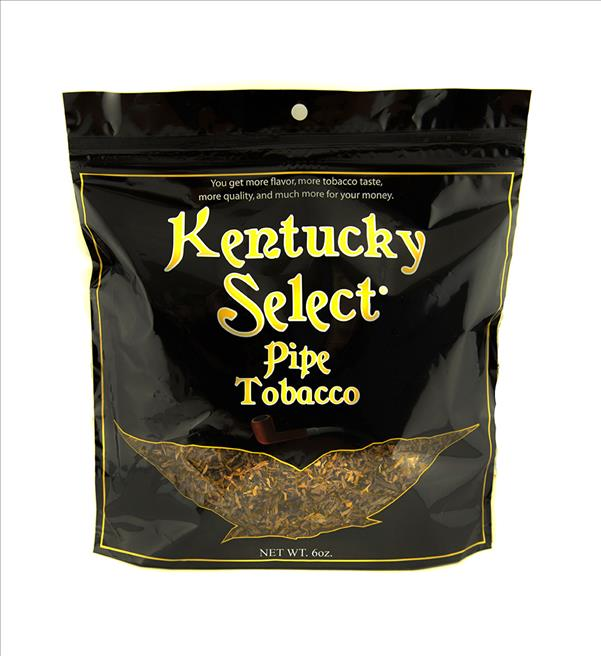 KENTUCKY SELECT PIPE TOBACCO GOLD LIGHT 6OZ