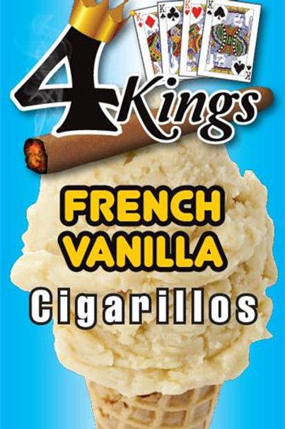 4 Kings Cigar French Vanilla 4/.99