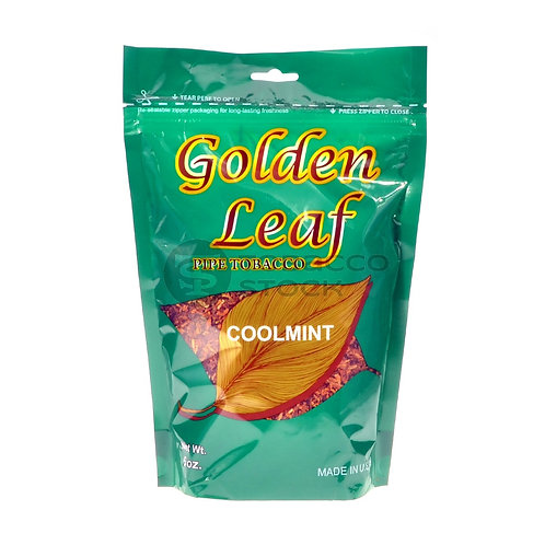 Golden Leaf Coolmint Pipe 6 Oz Bag