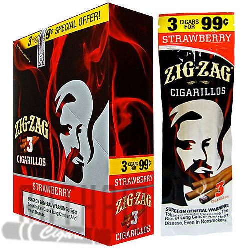 Zig Zag Cigarillo Strawberry 3/.99