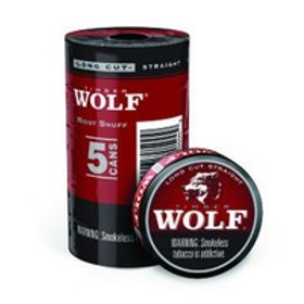 Timber Wolf Lc Straight 1.2 Oz 5 Ct