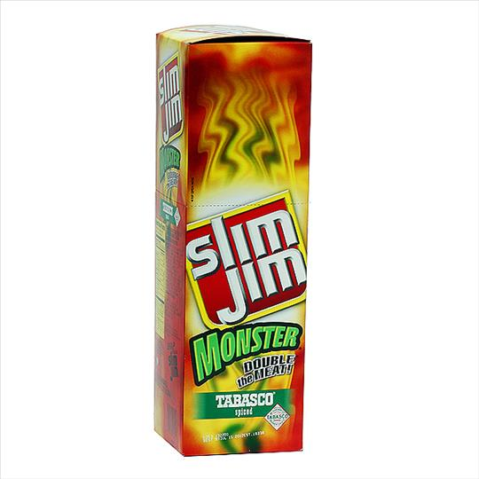 328199 - SLIM JIM MONSTER TABASCO 18 CT.