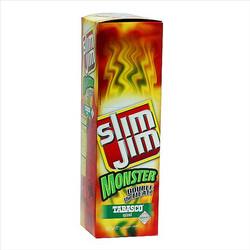328199 - SLIM JIM MONSTER TABASCO 18 CT.