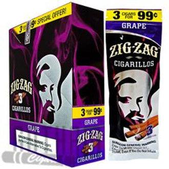 Zig Zag Cigarillo Grape 3/.99 15 Ct