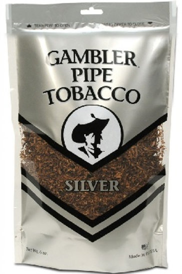 Gambler Pipe Tobacco Silver 6 Oz