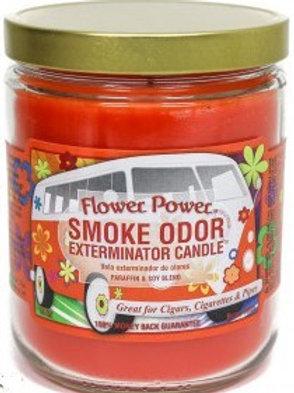 Smoke Odor Jar Flower Power 13 Oz