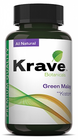 403994 - KRAVE KRATOM GREEN MALAYS 30CT.